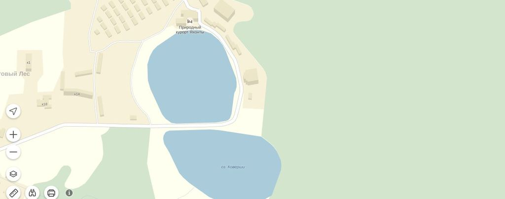 Озеро Коверши. Яхонты