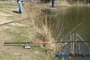Рыбалка в Шамиране 2009г