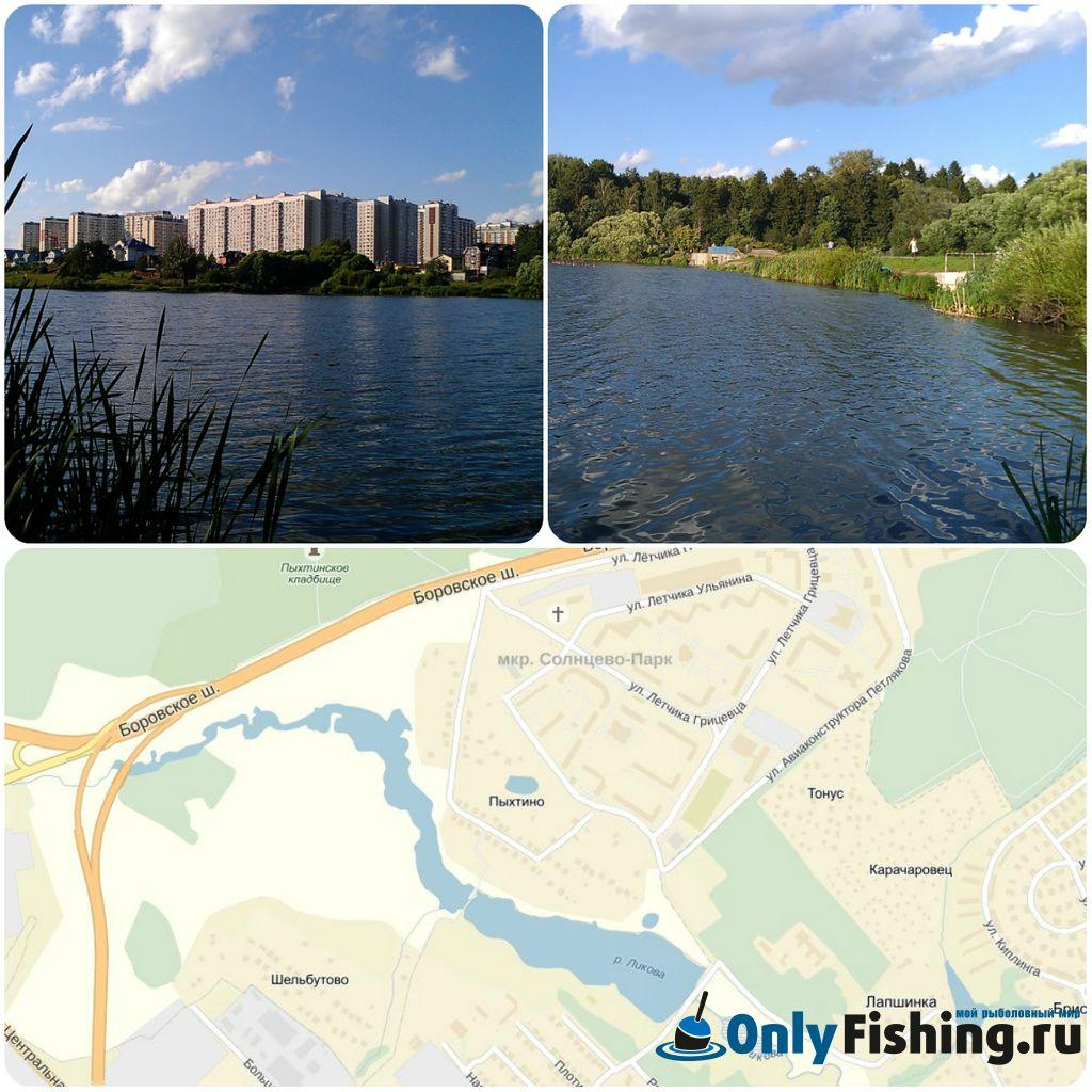 Река Ликова. Рыбалка. Ловля карася