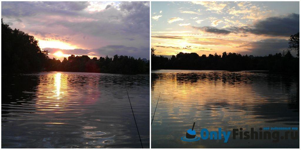 Самаринский пруд. Рыбалка в 2014 году