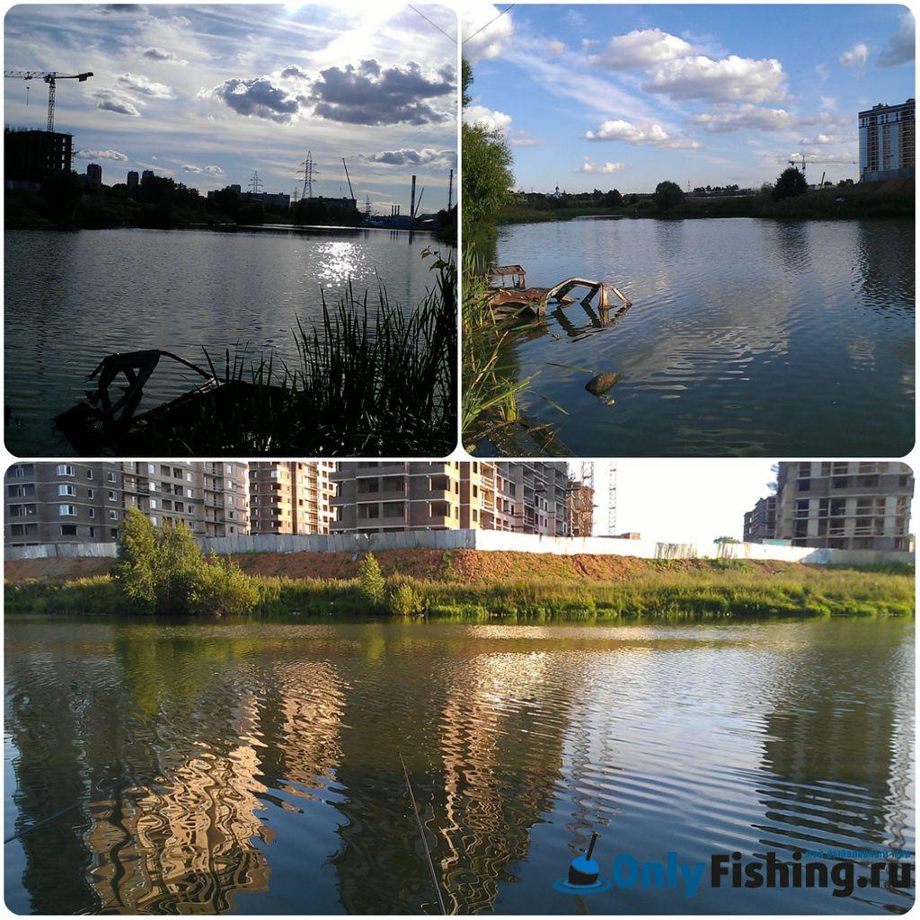Река Сетунька. Рыбалка. Ловля карася в Солнцево