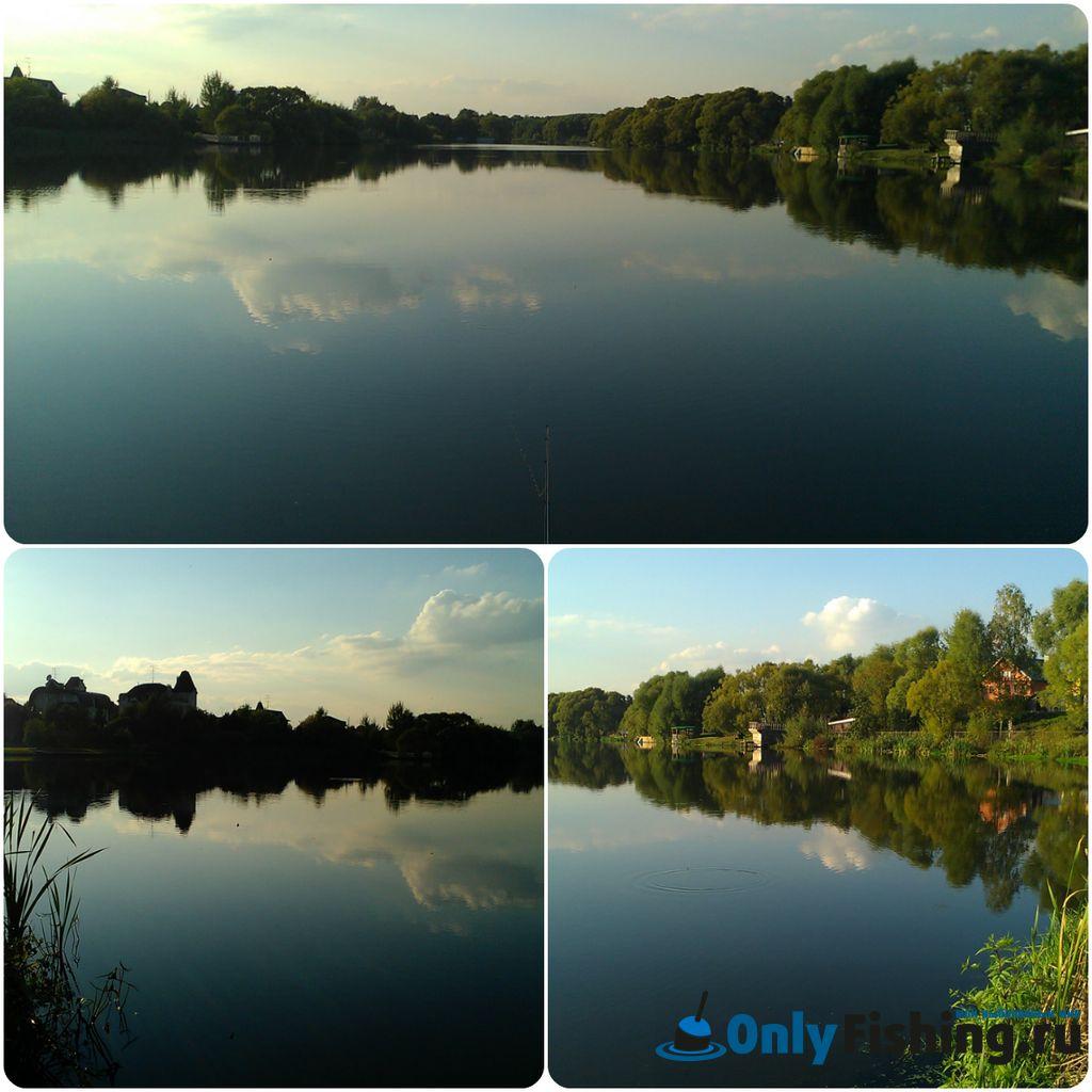Река Сосенка в Ларево. Рыбалка
