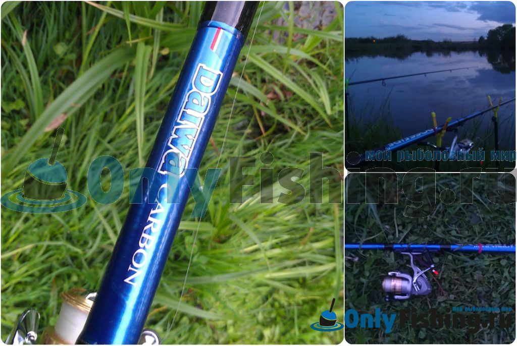 Поплавочная удочка Daiwa Crossfire Mini Lake Trout CF MLT 32H