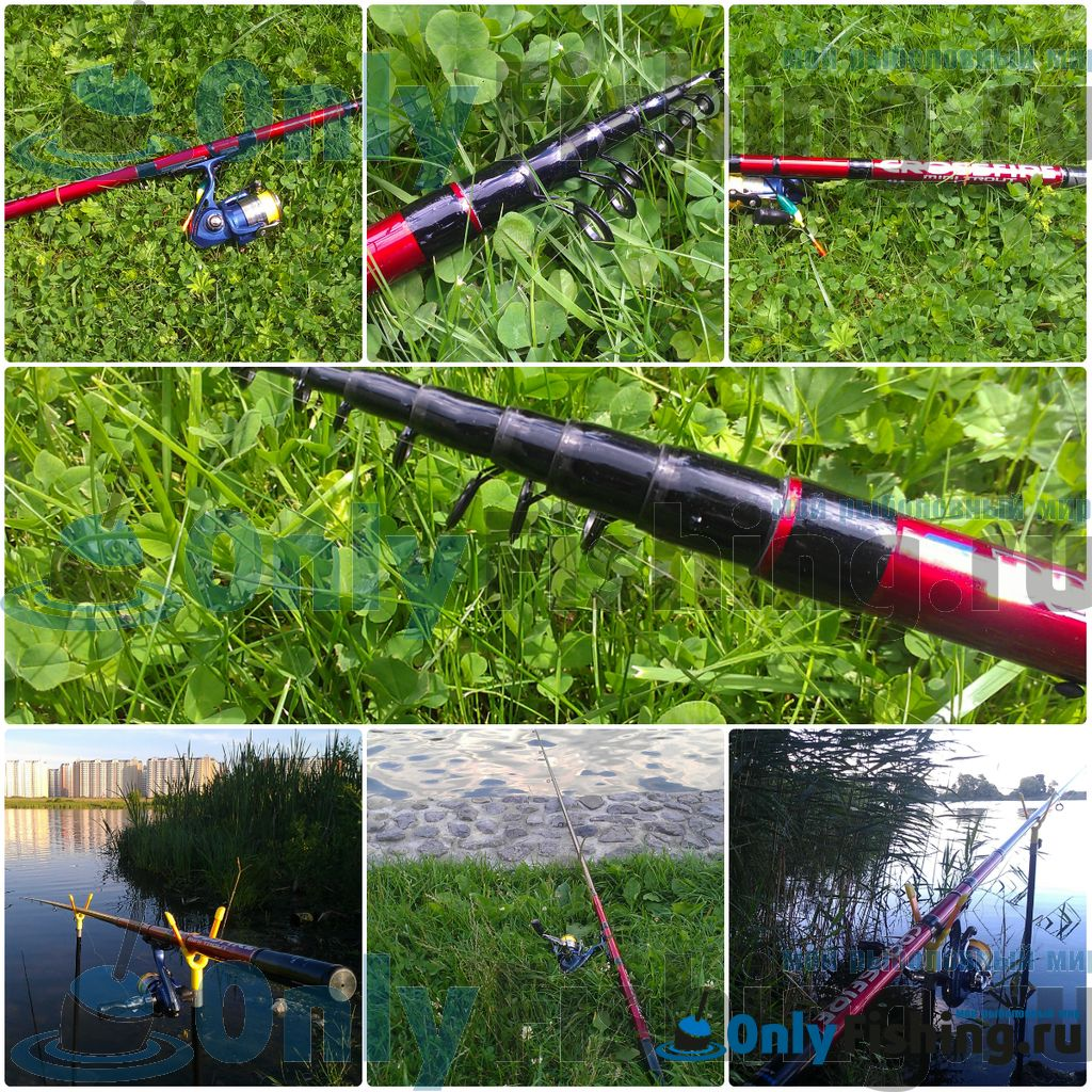 Поплавочная удочка Daiwa Crossfire Mini River Trout CF MRT 34HH
