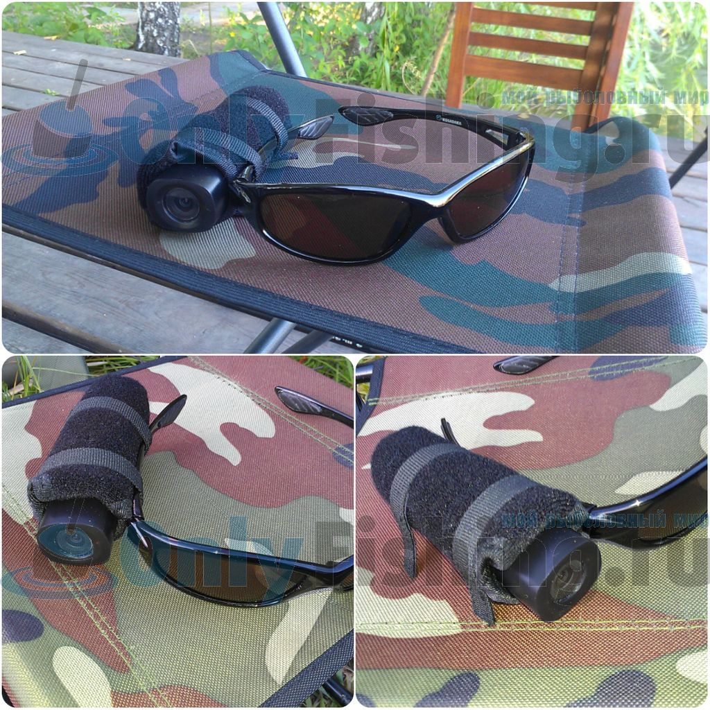 Камера Water Wolf - крепление на очках