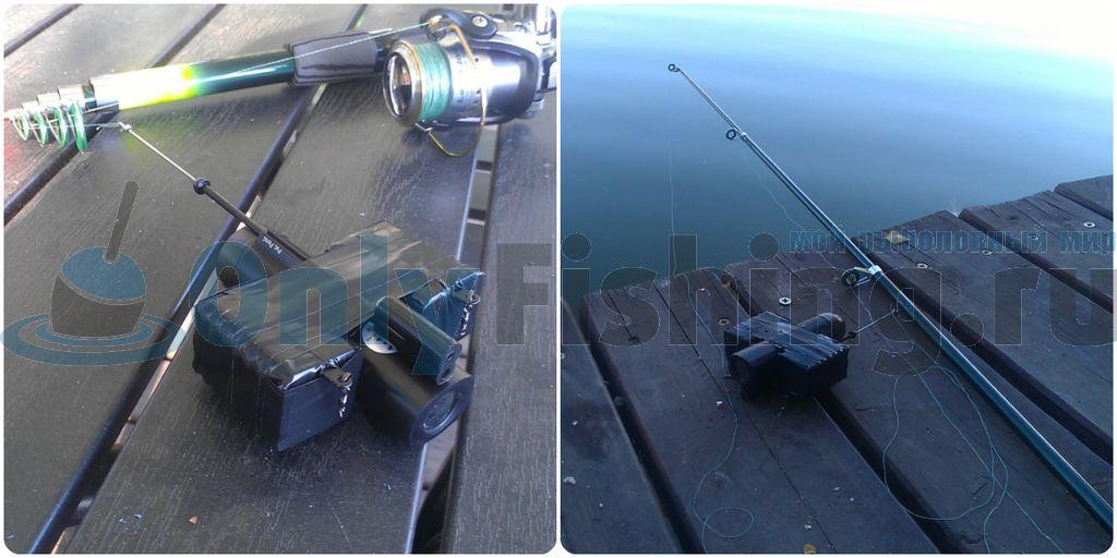 Первый запуск камеры UW 1.0 под воду