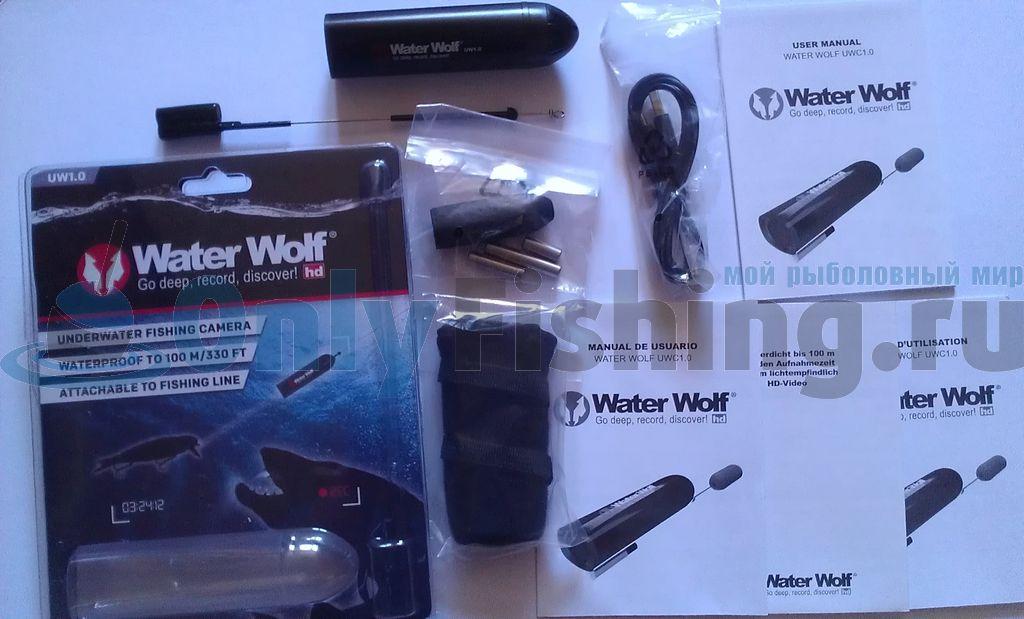 Распаковка подводной камеры Water Wolf