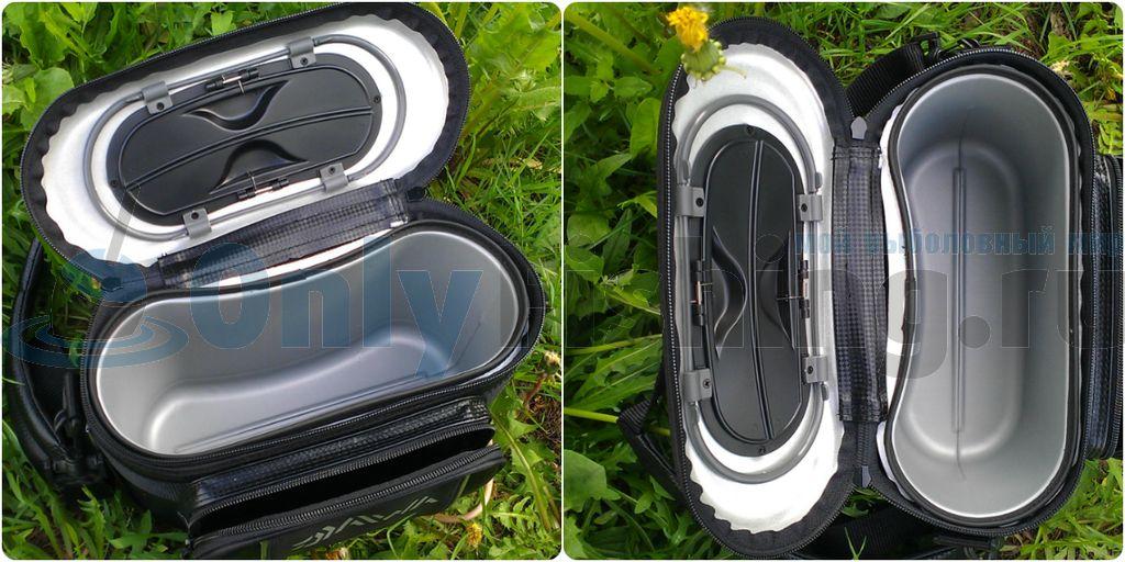 Контейнер для хранения рыбы в сумке Daiwa