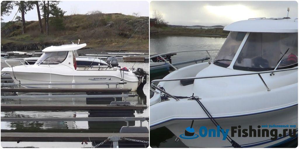 Маттео - лодка для рыбалки в Норвегии