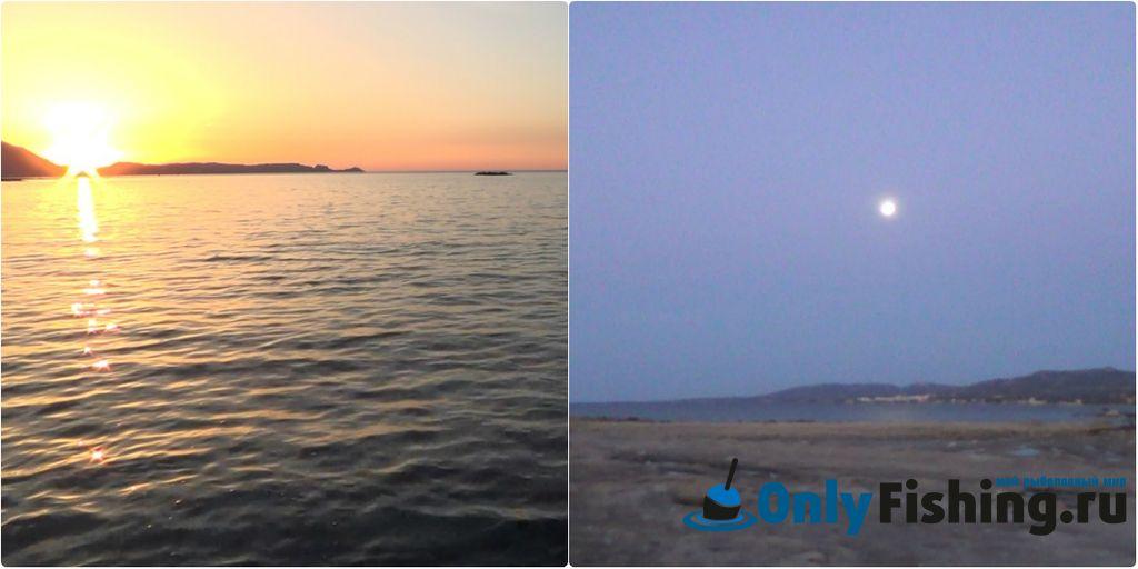 Утренняя рыбалка на Родосе