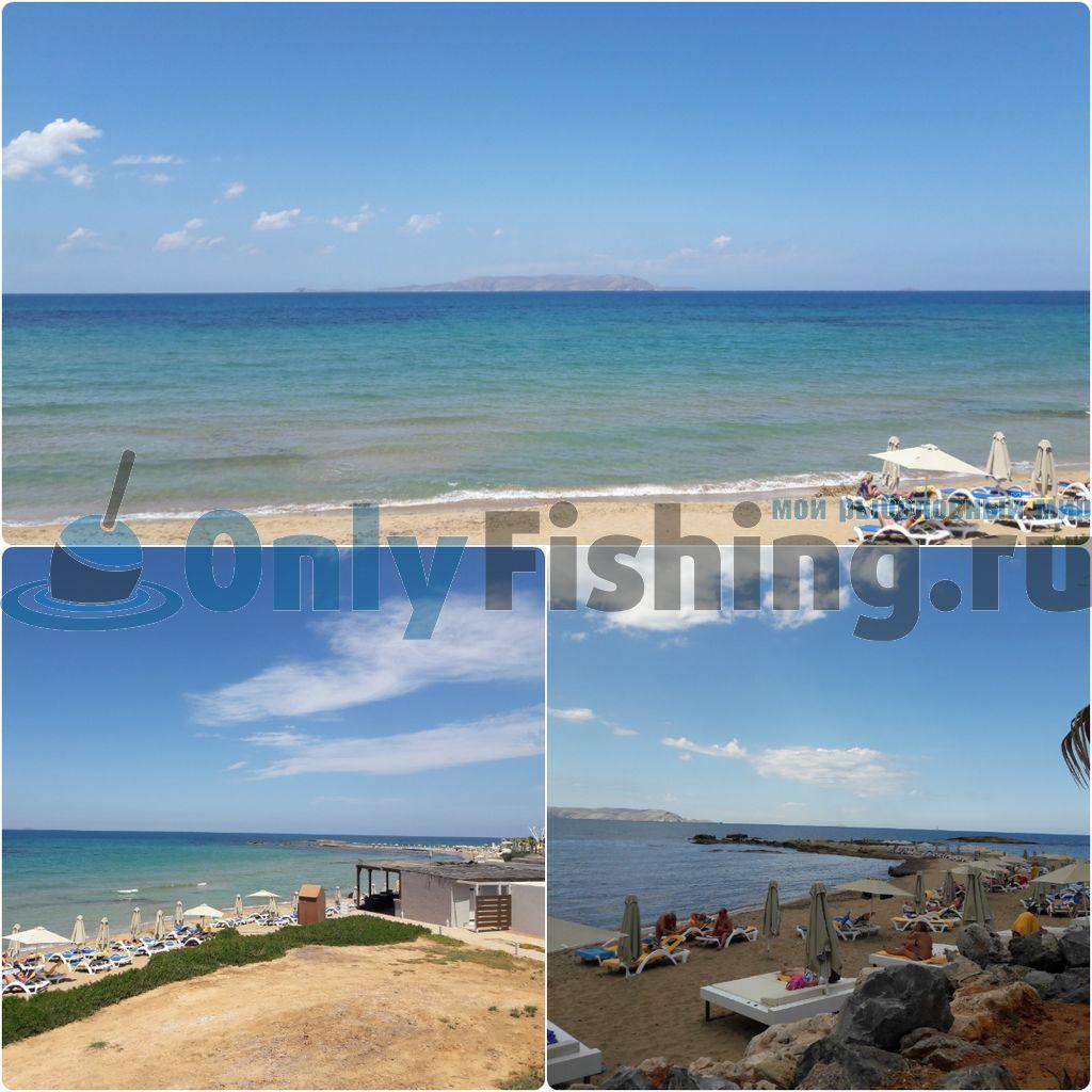 Место для рыбалки на Крите